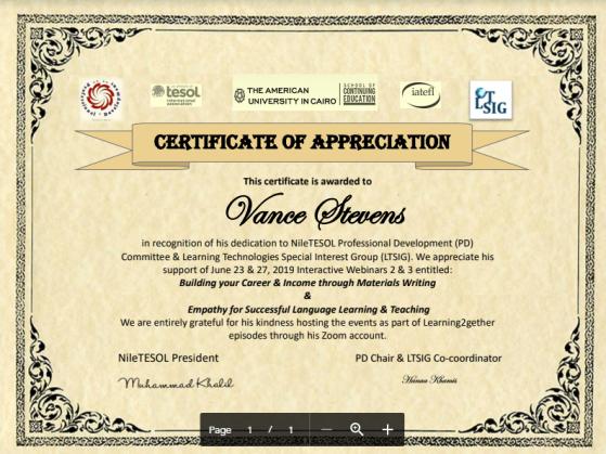 2019june23-27nileTESOLwebinar_certificate
