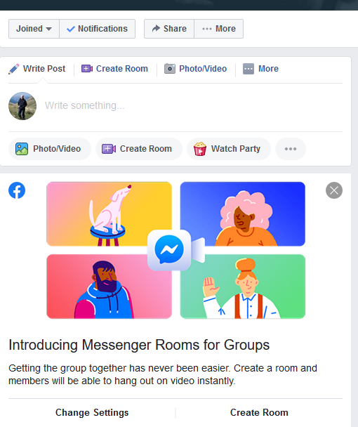 messenger4groups